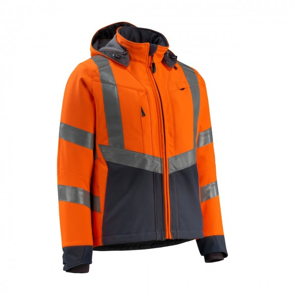 MASCOT® SAFE SUPREME Warnschutz Softshell Jacke Blackpool