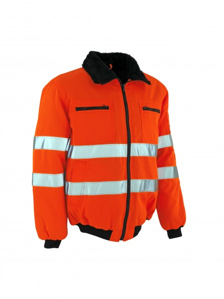 Mascot Warnschutz-Pilotjacke Alaska orange Safe Arctic