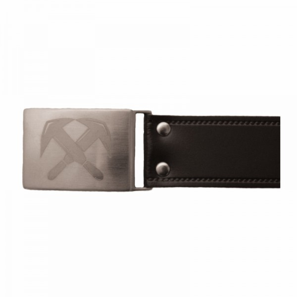 Eiko Kastenschloss-Gürtel Rindleder Dachdecker 3x40mm schwarz, 500149-201