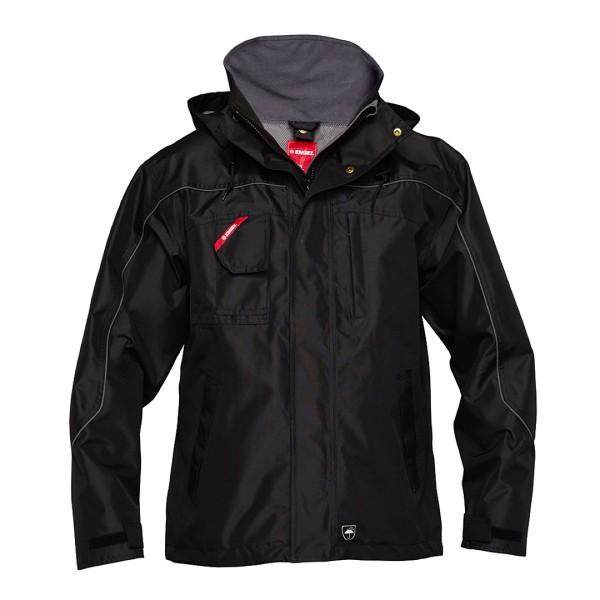 FE Engel Pilot Shell-Jacke Standard schwarz