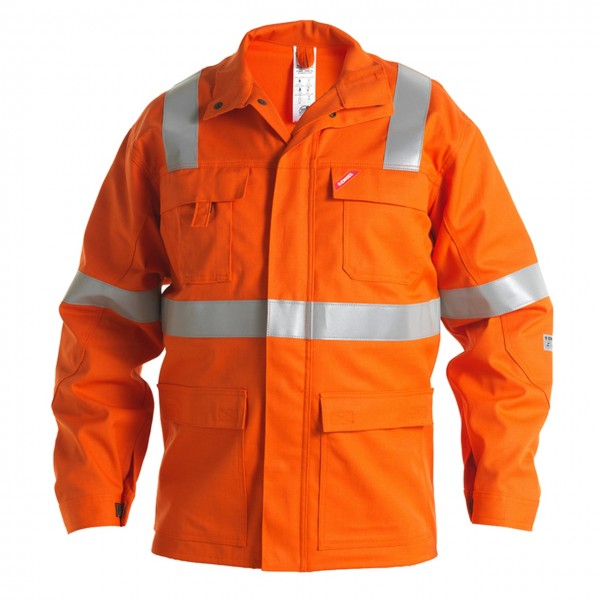 Safety+ Jacke Orange FE.Engel