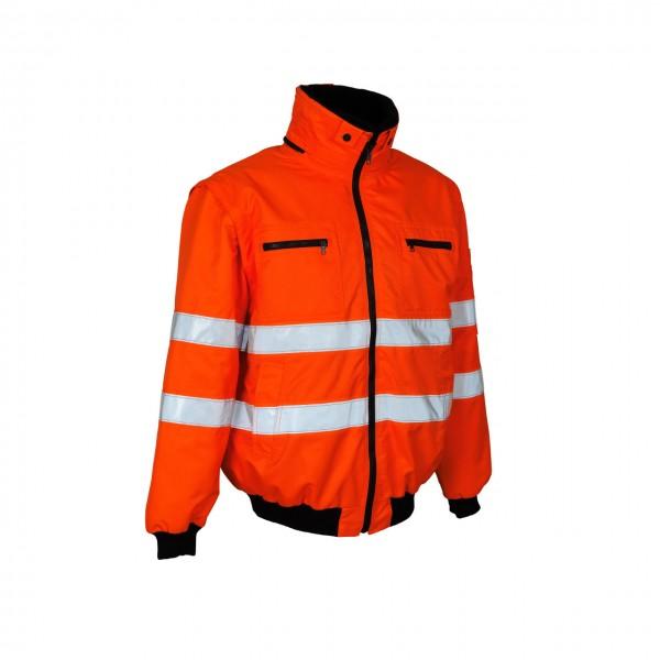 Mascot Warnschutz-Pilotjacke Kaprun orange Safe Arctic