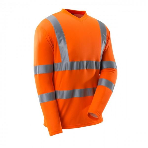 Mascot Warnschutz T-Shirt V-Ausschnitt langer Arm 3 Farben Safe Classic