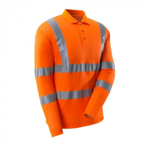 Mascot Warnschutz Polo-Shirt V-Ausschnitt langer Arm 3 Farben