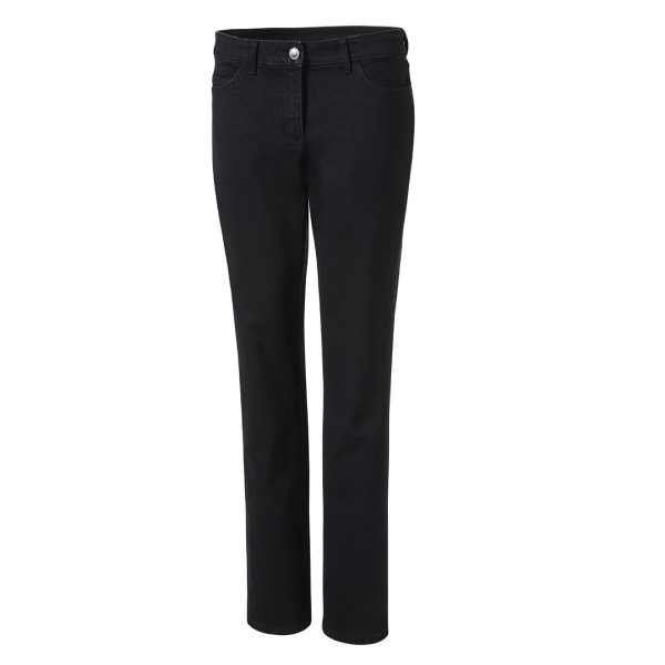 Pionier Damen-Jeanshose schwarz 5-Pocket 8663
