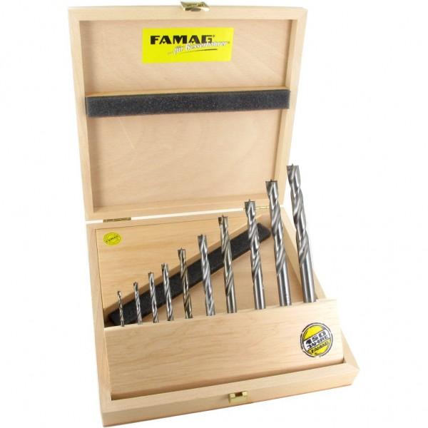 Famag Holzspiralbohrer HM 10tlg 1593.510