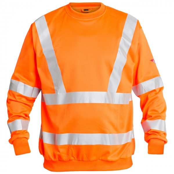 Engel Warnschutz Sweatshirt Safety EN ISO 20471