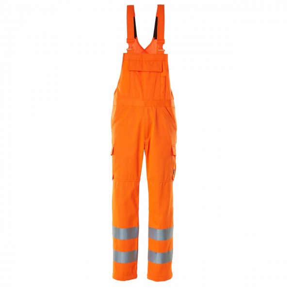 Mascot Warnschutz-Latzhose orange Safe Light