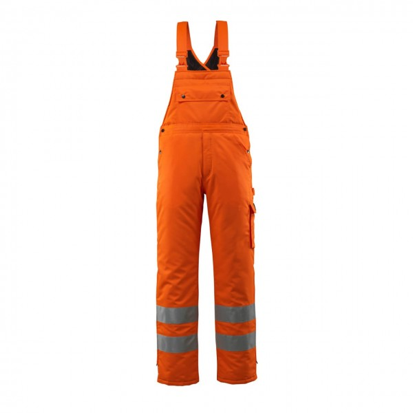 Mascot Warnschutz-Winterlatzhose Lech orange Safe Arctic