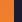 hi-vis orange/marine