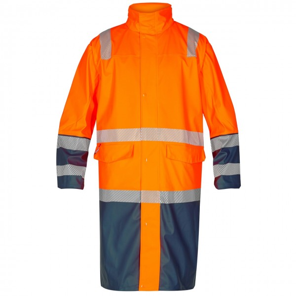 ENGEL Warnschutz-Regenjacke lang Safety